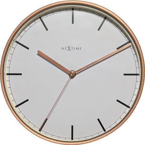 Zegar ścienny company 25 cm biały marki Nextime