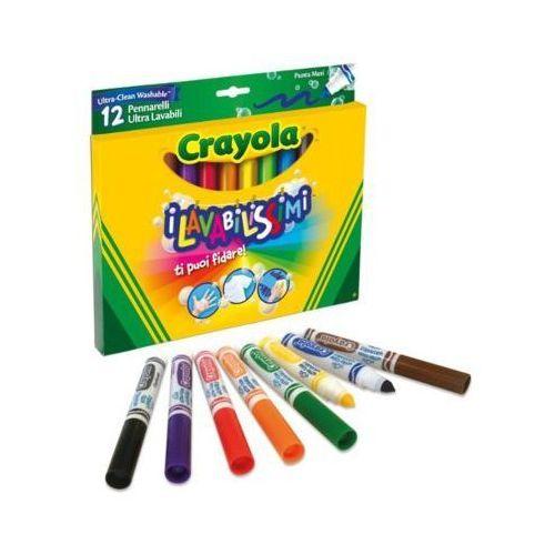 Flamastry super spieralne 12 szt. - darmowa dostawa od 199 zł!!! marki Crayola