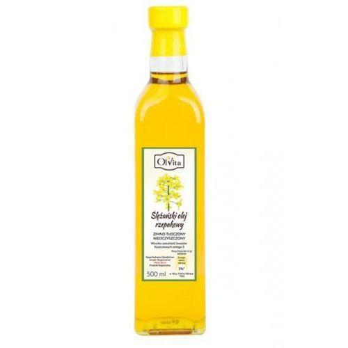 Olej rzepakowy zimnotłoczony 500ml - Ol'Vita