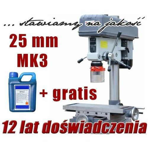 WIERTARKA SŁUPOWA WIERTARKO FREZARKA DO METALU MAKTEK ZX7025 25mm EWIMAX