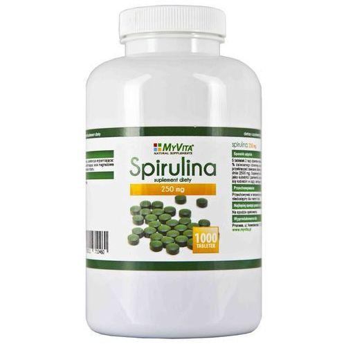SPIRULINA (ALGI), MYVITA, 1000 TABLETEK SUPLEMENT DIETY