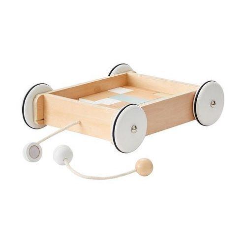 Kids Concept Neo Wózek Drewniany z Klockam, 1000195