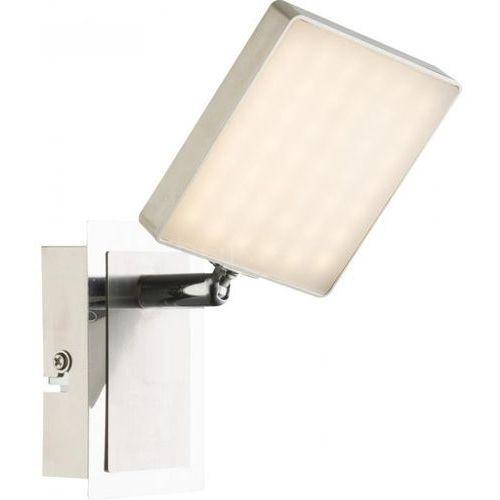 Globo brava lampa ścienna led nikiel matowy, 1-punktowy - nowoczesny - obszar wewnętrzny - brava - czas dostawy: od 6-10 dni roboczych marki Globo lighting