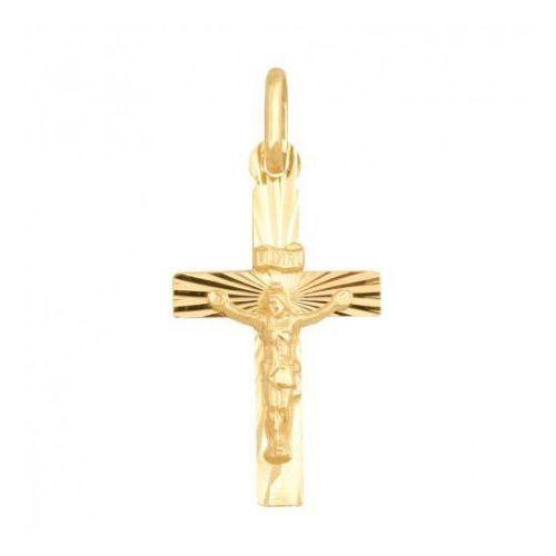 Rodium Krzyżyk złoty pr. 585 - 20392