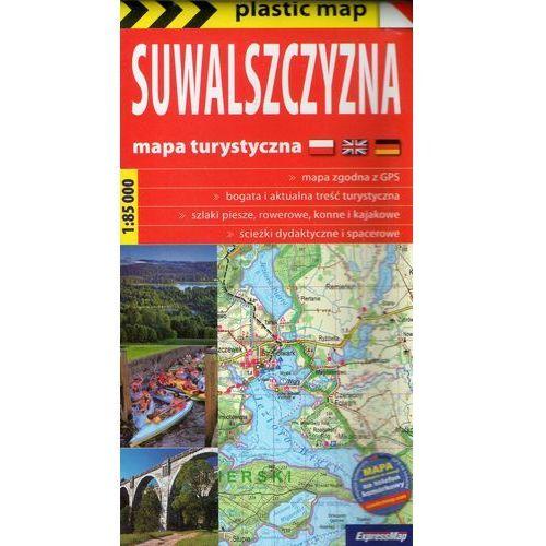 Suwalszczyzna foliowana mapa turystyczna 1:85 000, Expressmap