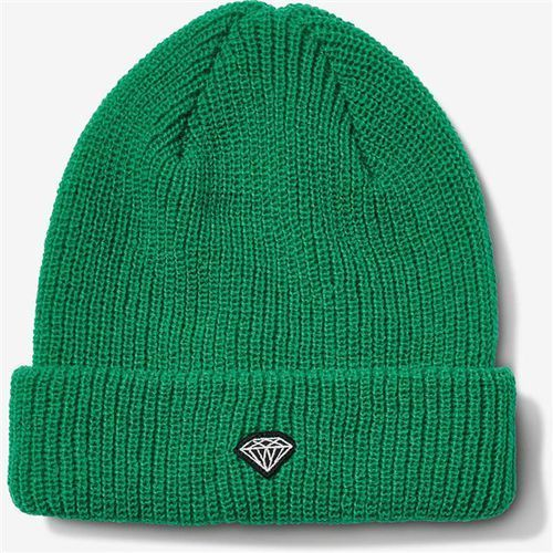 Czapka zimowa - brilliant patch beanie kelly green (kel) marki Diamond
