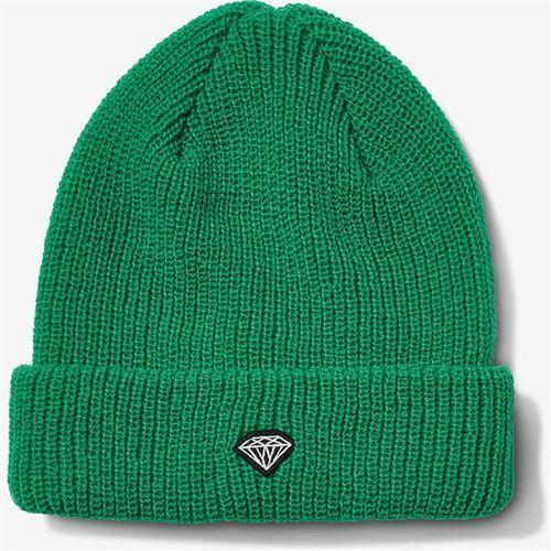 Diamond Czapka zimowa - brilliant patch beanie kelly green (kel) rozmiar: os