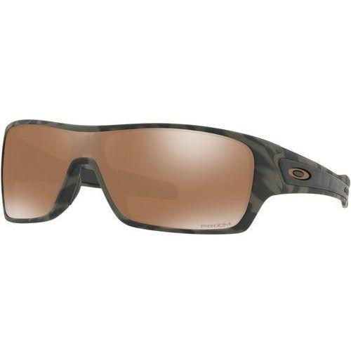 turbine rotor okulary rowerowe brązowy/oliwkowy 2018 okulary przeciwsłoneczne marki Oakley