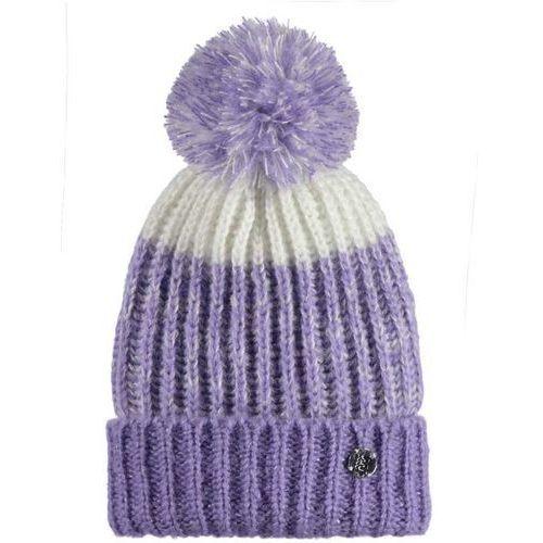 czapka zimowa BENCH - Turn Up Bobble Beanie Light Purple (PU132) rozmiar: OS