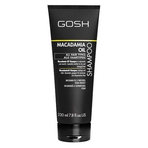 Gosh macadamia oil szampon do włosów 230ml (5711914104900)