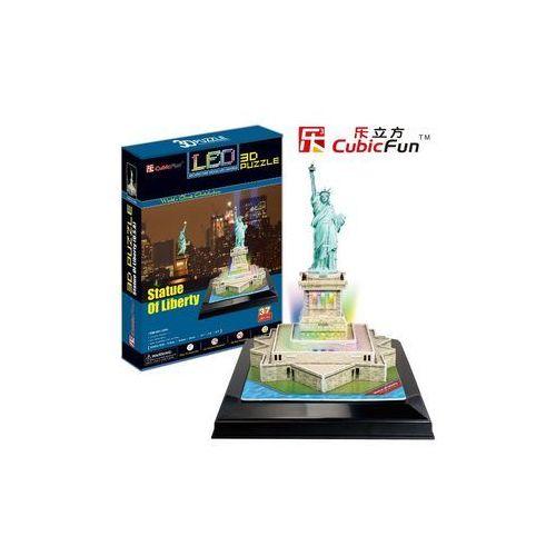 Puzzle 3d led statua wolnosci bpz-cubic fun marki Cubicfun