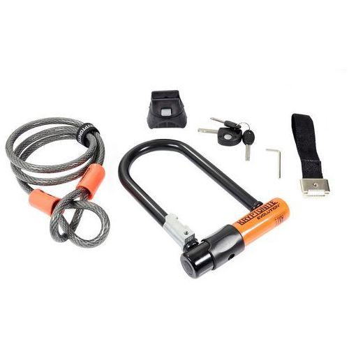 000990_KRY Zapięcie, U-Lock Kryptonite EVOLUTION MINI 7 + Kryptoflex Cable 10 mm/120 cm z uchwytem