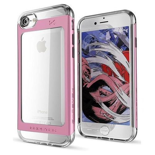 Etui cloak 2 apple iphone 8/7 pink + szkło marki Ghostek