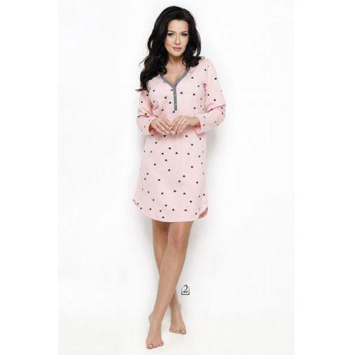 Koszula nocna model nika 2228 aw/18 k02 pink marki Taro