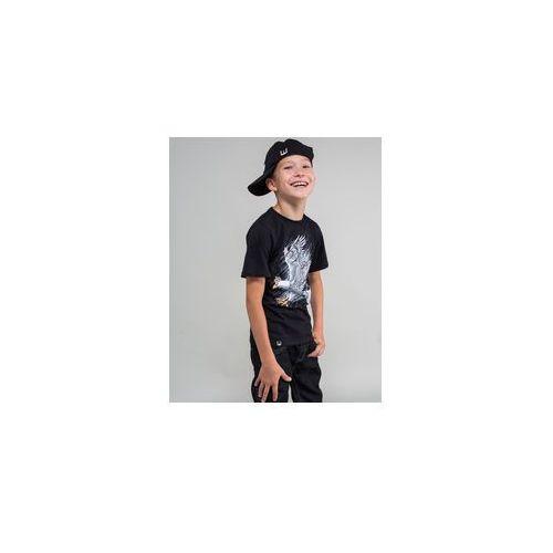 koszulka dziecięca Surge Pikujący orzeł czarna (K.SUR.1258), kolor czarny