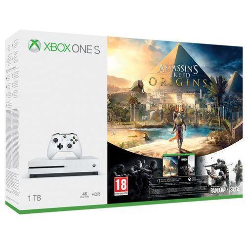 Konsola Microsoft Xbox One S 1TB. Najniższe ceny, najlepsze promocje w sklepach, opinie.
