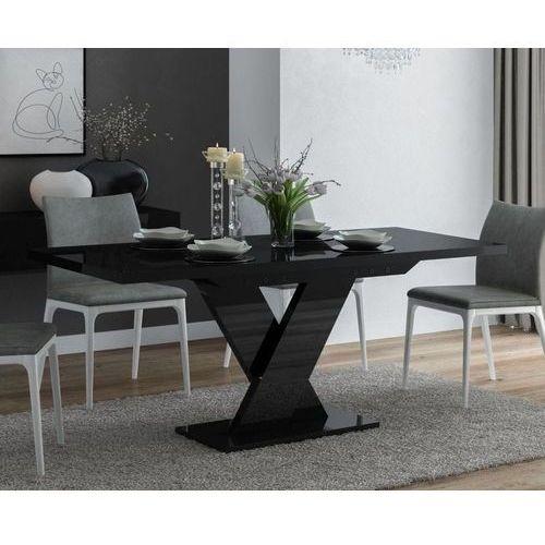 Stół rozkładany oskar czarny wysoki połysk marki Mato design