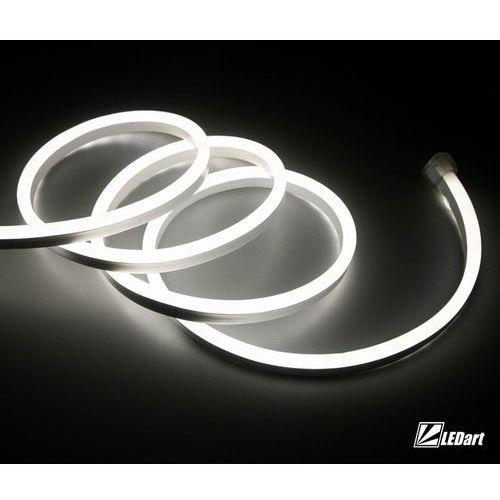 Ledart Led neon flex 1m biały zimny