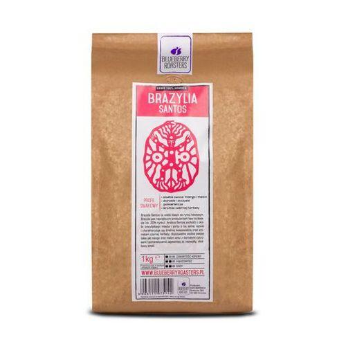 Kawa mielona brazylia santos 1kg - mielona \ 1kg wyprodukowany przez Blueberry roasters