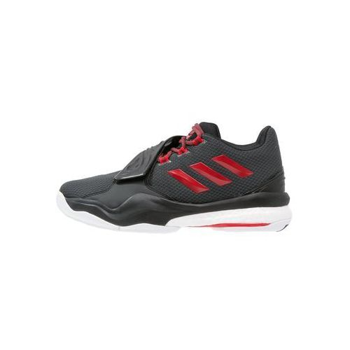 adidas Performance D ROSE ENGLEWOOD BOOST Obuwie do koszykówki solid grey/ray red/core black