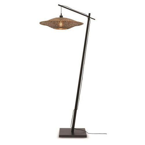 Good&mojo lampa podłogowa bali 60x15 czarna bali/f/ad/b/6015/bn (8716248084079)