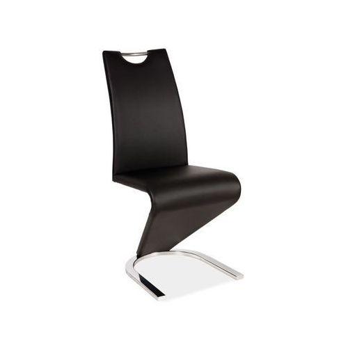 Krzesło H-090 black chrom, H-090 BK