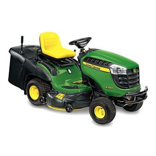 John deere Traktorek kosiarka samojezdna  x155r + przyczepka gratis - dostawa gratis