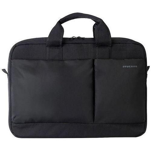 "Tucano piu bag - torba macbook pro 13"" retina & notebook 13.3"" / 14"" (czarny) (8020252076518)"