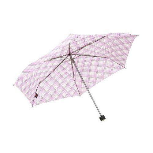 Doppler Havana check parasol fioletowy