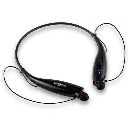 oneConcept Messager słuchawki Bluetooth akumulator zestaw głośnomówiący alarm wibracyjny