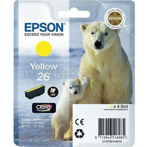Epson Tusz T2614 YELLOW 4.5ml do XP-600/700/800 (8715946518985)