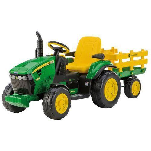 traktor john deere power pull ground 12v marki Peg perego
