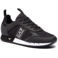 Ea7 emporio armani Sneakersy - x8x027 xk050 a120 black/white