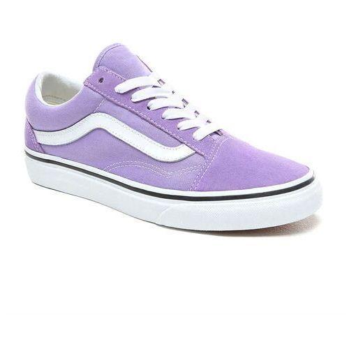 buty VANS - Old Skool Violet Tulip/True White (RPM) rozmiar: 40.5, kolor fioletowy