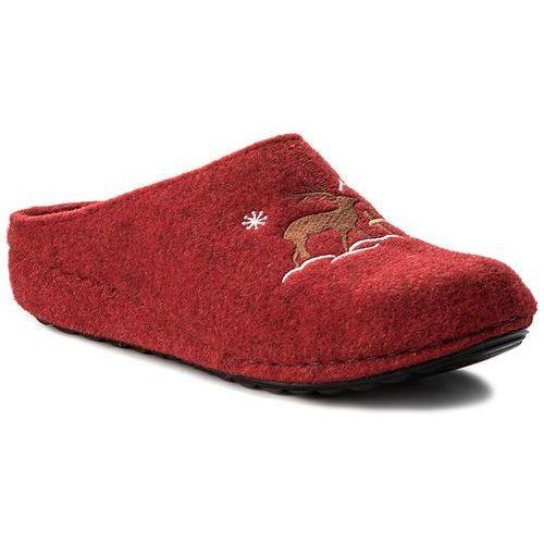 Kapcie SERGIO BARDI - Allerona FW127276817PF 908, kolor czerwony