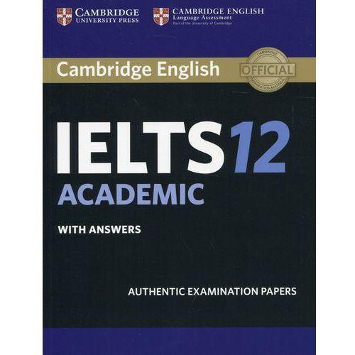 Cambridge Ielts 12 Academic Student's Book With Answers, oprawa miękka
