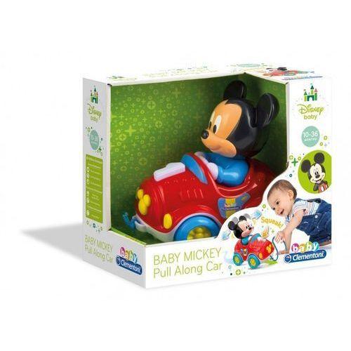 Baby miki samochodzik do ciągnięcia marki Clementoni