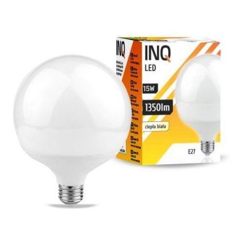 Żarówka led e27 15w g120 3000k lighting ldg060ww marki Inq