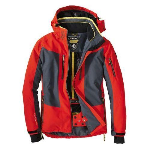 Męska kurtka narciarska lanid 8000mm pomarańczowy / szary xl marki Killtec