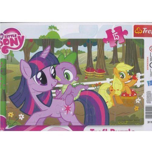 Puzzle ramkowe 15 My little Pony TREFL