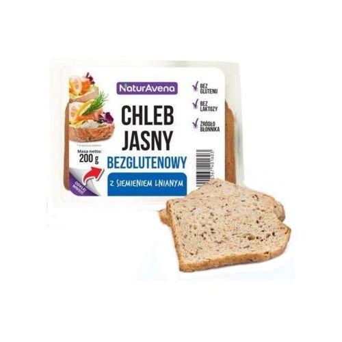 200g chleb bezglutenowy jasny z siemieniem lnianym marki Naturavena