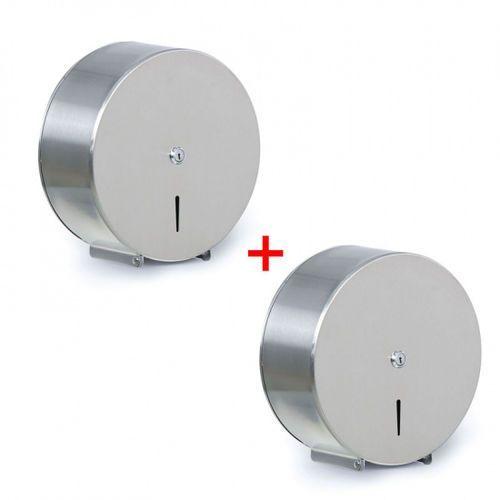 Pojemnik na papier toaletowy, stal nierdzewna, Ø 260, 1+1 gratis marki B2b partner