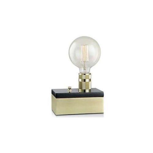 Stojąca lampka stołowa etui 106618 kinkiet lampa ścienna retro mosiądz marki Markslojd