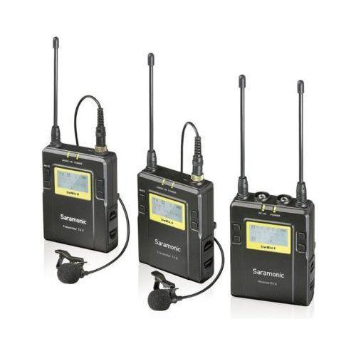 Saramonic Bezprzewodowy zestaw audio uwmic9 rx9 + tx9 + tx9 darmowy transport (4897040885928)