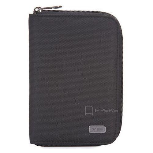 Pacsafe Daysafe Passport Wallet etui na paszport i dokumenty / portfel damski / czarny - Black