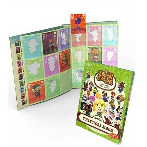 Nintendo Album do kart amiibo animal crossing + 3 karty