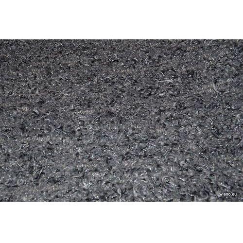 Chodnik bawełniany szaro-czarny z połyskującą nitką 65x150