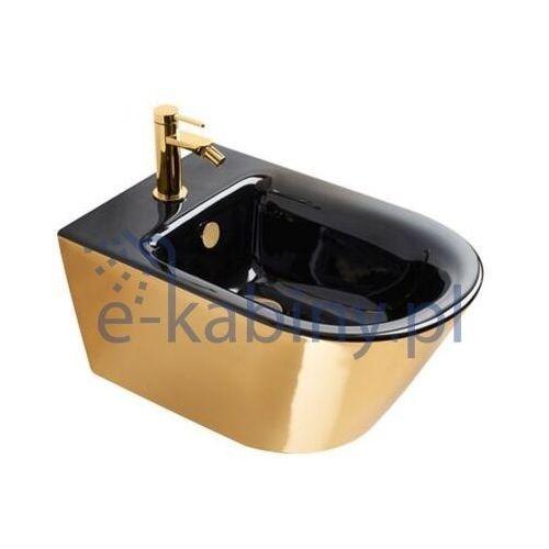 Catalano zero bidet wiszący złoto/czarny 1bs55nrno