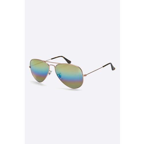 - okulary aviator large metal marki Ray-ban
