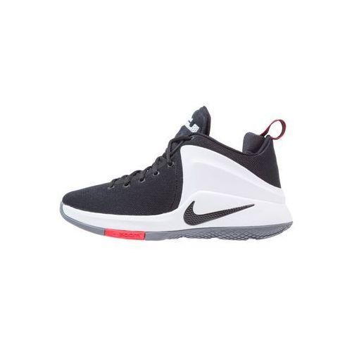 Nike Performance LEBRON WITNESS Obuwie do koszykówki black/white/university red